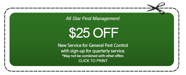 Coupon of All Star Pest Management