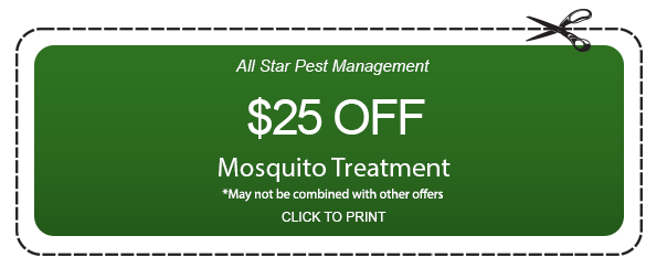 Coupon for Mosquito treatment